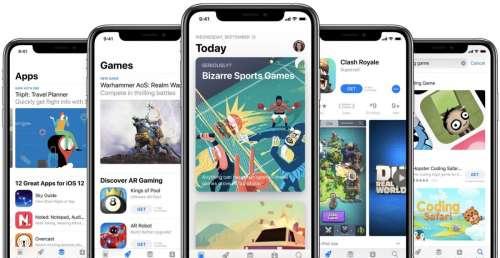 App Store : 41,5 milliards de dollars ont été dépensés au 1er semestre de 2021