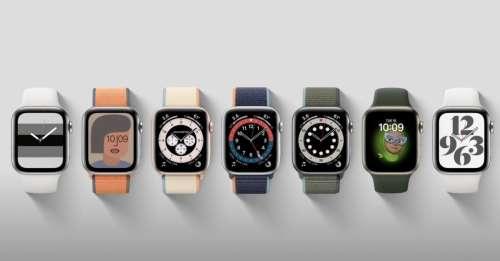 Apple Watch Series 7 : un design à bord plat et une couleur verte (rumeur)