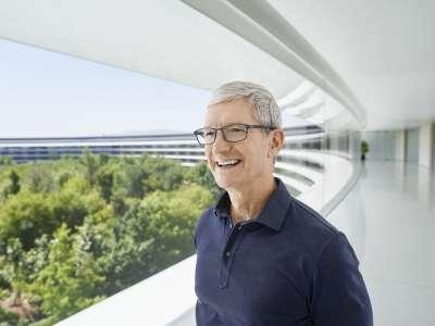 Tim Cook adresse une lettre aux employés pour le 45e anniversaire d'Apple