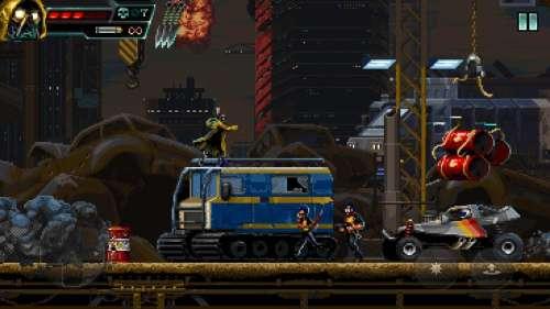 Huntdown : le nouveau jeu d'action parfait en pixel-art !