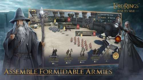 The Lord of the Rings: Rise to War en précommande sur iOS et Android