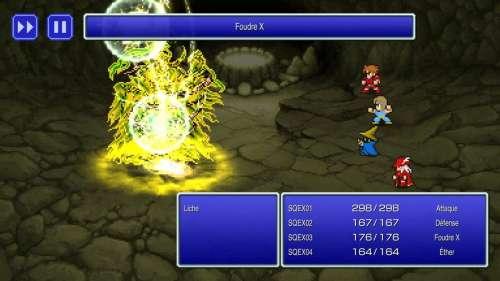 Final Fantasy Pixel Remaster : FF1, FF2 et FF3 sont disponibles !