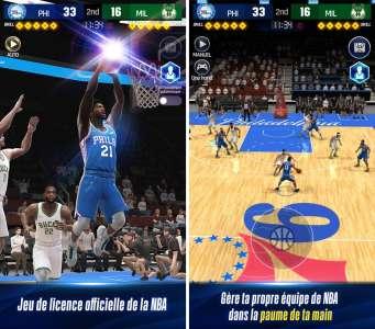NBA NOW 22 : du basketball, de la stratégie et des cartes sur l'App Store