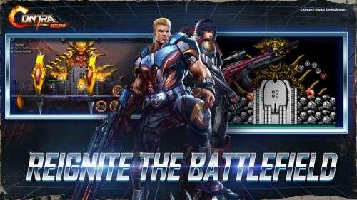 Le retour de Bill et Lance dans Contra Returns sur mobile !