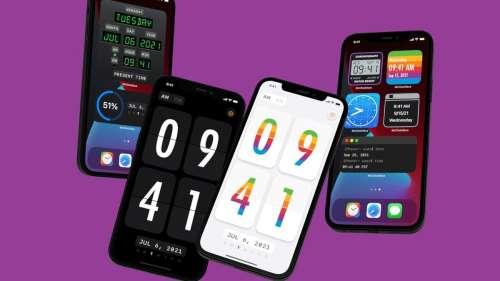 McClockface : des widgets personnalisés pour afficher l'heure