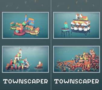 Townscaper : le jeu de construction relaxant disponible en précommande