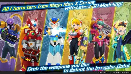 MEGA MAN X DiVE : le jeu est en précommande sur l'App Store