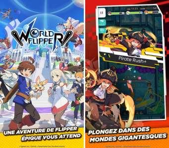 Sorties jeux : World Flipper, SpongeBob's Idle Adventures, FINAL FANTASY IV