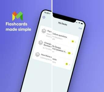 Les nouvelles applications : Muna Flashcards, Dashbit, Memeo
