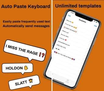 Les nouvelles applications : Auto Paste Keyboard, Bubbles, Mela
