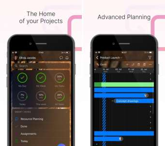 Les nouvelles applications : Zenkit Projects, HalloApp, Kettlebell