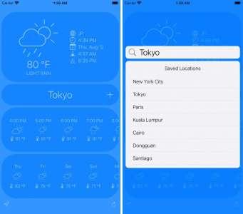 Les nouvelles applications : SkyCue, Negroni, Pathica