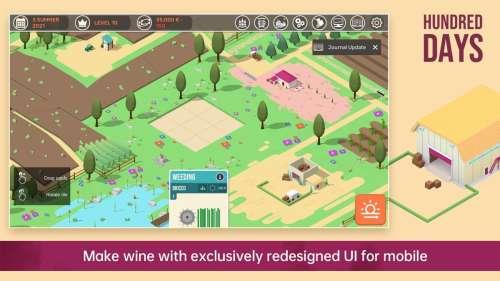 Hundred Days : la simulation vinicole arrive sur iOS et Android