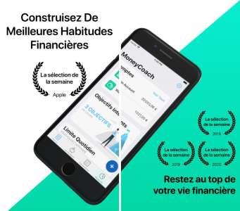 MoneyCoach iOS 15 : widget XL, Quick Note, Apple Watch...