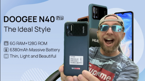Test Doogee N40 pro avec batterie 6380mAh, charge 24W,16Mp Samsung et 20Mp Sony à prix Choc !