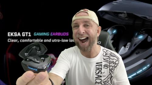 Ecouteurs Gaming Cobra intra et sans fil  EKSA GT1, Plutôt Gaming ou musique ?