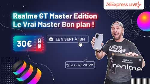 Realme GT Master edition en Test Live, Le master Bon plan avec une promo à ne pas rater !