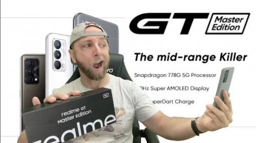 Test du Realme GT Master Edition, attention ce smartphone est fou, et en promo avec -30€ !