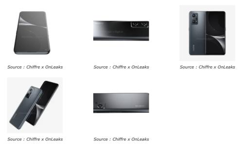 Realme GT Neo2, design et specifications révélées !