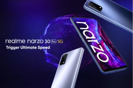 Le Realme Narzo 30 Pro 5G devient le smartphone 5G le moins cher de la marque