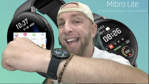 Test de la Montre Xiaomi Mibro Lite, une smartwatch Ultra fine avec écran Amoled, BPM et Spo2 à prix Choc !