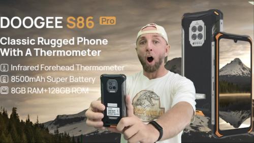 Test du Doogee S86 Pro Helio P60 , 8500mAh et une vrai bonne surprise pour cette version pro