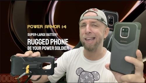 Test du Ulefone power Armor 14 étanche et robuste avec caméra 20Mp Sony et batterie 10000mAh pour 150€ !
