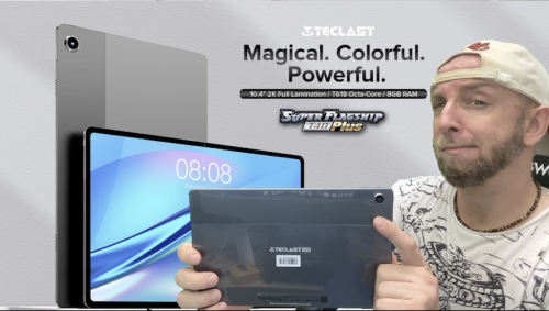 Test de la Teclast T40 plus ,Une tablette 4G de 10,4 2K T618 à 200€