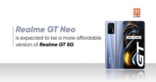 Le REALME GT NEO FLASH sera livré avec un charger 65 Watts