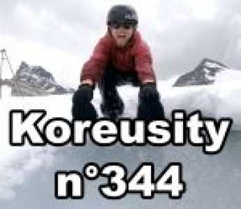 Bon weekend avec Koreusity n°344 un zap de 90 vidéos insolites