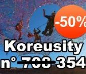 Bon blackfriday avec Koreusity n°354 un zap de 80 vidéos insolites