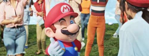 Le Super Nintendo World s'offre un gros trailer musical