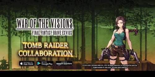 War of the Visions Final Fantasy Brave Exvius lance un événement avec Lara Croft (Tomb Raider)
