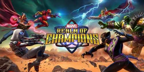 Marvel Realm of Champions s'offre une date de sortie sur supports iOS et Android