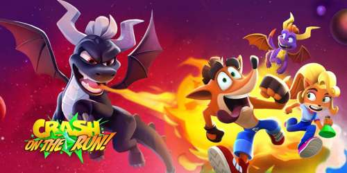 Crash Bandicoot : On The Run : la Saison 3 s'offre un crossover avec Spyro le dragon