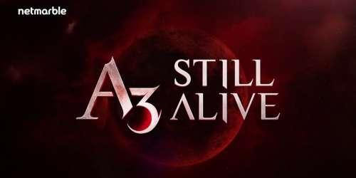 Déjà un million de téléchargements pour A3: Still Alive, et des cadeaux à récupérer