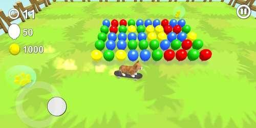 Éclatez des ballons en incarnant d'adorables petits chiots dans Puppoz