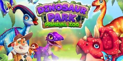 Gérez votre zoo à dinos dans Dinosaur Park : Primeval Zoo, disponible sur iOS