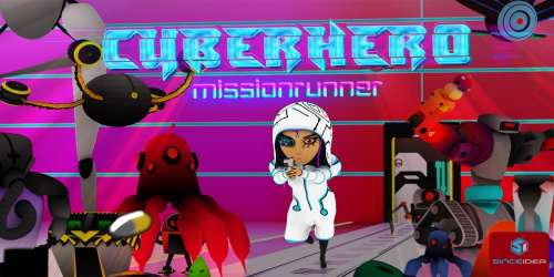Le shooter Cyber Hero - Mission Runner prend date sur supports Android