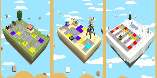 Repeignez le monde dans Cubolor, puzzle game disponible sur mobiles