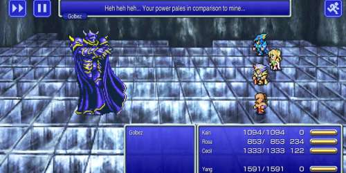 Final Fantasy IV Pixel Remaster est disponible sur supports iOS et Android