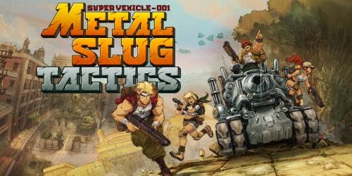 Metal Slug Tactics annoncé pour 2022 sur Nintendo Switch
