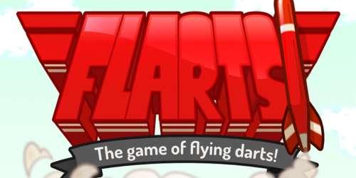 Testez vos compétences en fléchettes dans Flarts, de sortie sur supports iOS