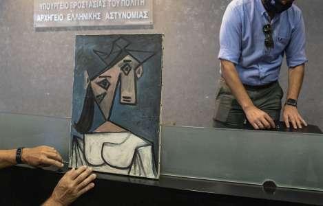 Athènes retrouve un Picasso volé offert par le maître