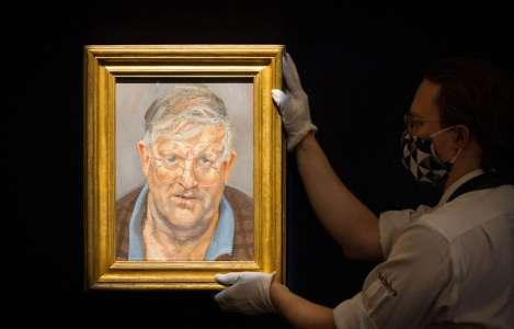 Le portrait de David Hockney par Lucian Freud vendu pour près de 15millions de livres sterling