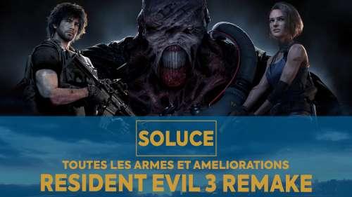 Soluce Resident Evil 3 Remake – Emplacement de toutes les armes et améliorations du jeu