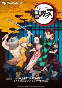 L'anime Demon Slayer: Kimetsu no Yaiba en simulcast sur Wakanim et au Grand Rex