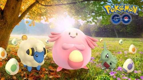Pokemon GO : Nouvel événement Equinoxe !