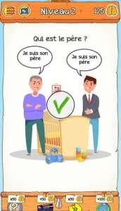 solution Braindom 2 Niveau 2 – Qui est le père ?