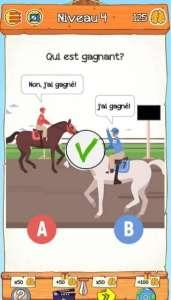 solution Braindom 2 Niveau 4 – Qui est gagnant?